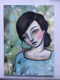 "Postcard Print ""Reflect"" by Pennystamper on Etsy https://www.etsy.com/listing/266709230/postcard-print-reflect"