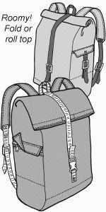 563 Pioneer Rucksack Pattern 2019 Patterns for backpacks and bags The post 563 Pioneer Rucksack Pattern 2019 appeared first on Bag Diy. Diy Backpack, Rucksack Bag, Backpack Pattern, Backpack Tutorial, Diy Sac, Leather Pattern, Leather Projects, Vintage Sewing Patterns, Handmade Bags