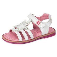 Sandalias blancas piel niñas Agatha Ruiz de la Prada