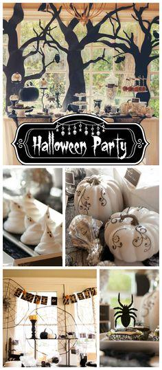 Halloween In Paris Party- Part 1 Adult halloween party, DIY
