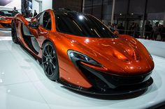 McLaren P1 Hybrid Supercar  Pirelli P-Zero Corsa Tires  Akebono Racing Ceramic Brakes  Formula 1-derived DRS Rear Wing  Instant Power Assist System (IPAS)   Top Speed 217 mph  916 HP    Production is limited to 375   $1.31 Million USD