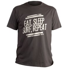 One for the boys, Eat. Sleep. Surf. Repeat tee at www.carvemag.com