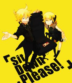 Kagamine Rin and Len from Remote Control!