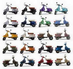 Vespa Ape, Piaggio Vespa, Vespa Scooters, Vespa Models, Scooter Garage, Vespa Px 150, Scooter Drawing, Lml Star, Honda Cub