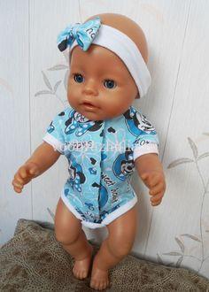 Песочник, боди для куклы Baby Born