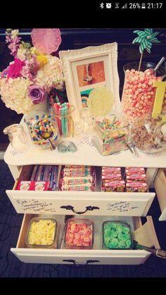Alternative sweetie table