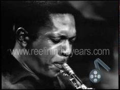 """John Coltrane """"My Favorite Things"""" 1961 - Jazz Icon John Coltrane with his legendary Quintet featuring Eric Dolphy on flute, Elvin Jones on drums, McCoy Tyner on piano and Reggie Workman on bass, performing one of Coltrane's most beloved interpretations."""