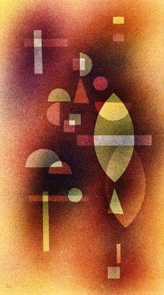 Durchsicht,1930,by Wassily Kandinsky