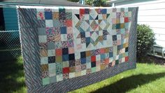 Made from Saturday Morning charm packs: http://barbarafrankonline.com/category/quilts/