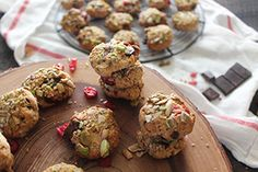 Pistachio Crusted Chewy Chocolate Chip Cranberry Cookies   nutritionstripped.com