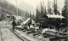 """The Chinese Immigration Act was replaced by legislation that virtually suspended Chinese immigration on the day known to the Canadian Chinese as """"Humiliation Day."""" The discriminatory legislation would not be repealed until Canadian Pacific Railway, Canadian Rockies, The Old Days, History Facts, British Columbia, Social Studies, Geography, Vintage Photos"""