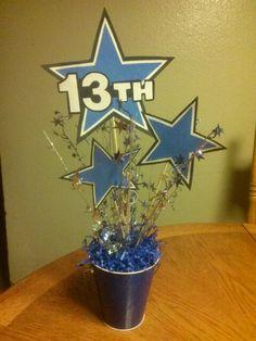 Alexus 13th Dallas Cowboy theme party