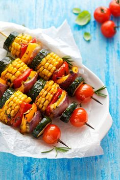 Grilled dishes in a fit version – grilled vegetables – Dietary grill – fit recipes Vegan Bbq Recipes, Healthy Grilling Recipes, Veggie Recipes, Barbecue Recipes, Grilling Ideas, Bbq Ideas, Veggie Food, Vegan Bbq Sauce, Vegan Ribs