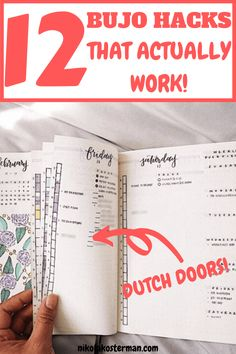 12 Bullet Journal Hacks That You Need To See! - MIND-BLOWING BULLET JOURNAL HACKS THAT ACTUALLY WORK! THE BEST TIPS AND INSPIRATION THAT YOU WILL FOR SURE WANT TO COPY. Click to read more. January Bullet Journal, Bullet Journal Monthly Spread, Bullet Journal Printables, Bullet Journal How To Start A, Bullet Journal Themes, Bullet Journal Layout, Bullet Journal Inspiration, Bullet Journals, Bullet Journal Stencils