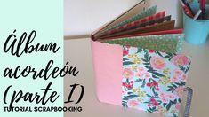 Álbum Primavera Scrapbooking en ACORDEÓN - Fácil principiantes Album Scrapbook, Youtube, Albums, Camilla, Trinidad, Livros, Bookbinding Tutorial, Tutorials, Book Binding