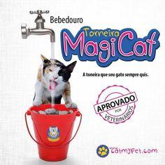 Bebedouro Torneira MagiCat