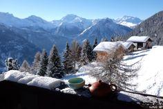 Teestunde in den Alpen - Tee - Tea