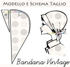 Sew bandana di Doria vintage