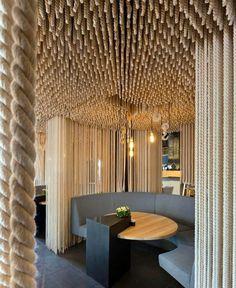 Contemporary Twist to the Interior Design of a Restaurant restaurant interior decor7