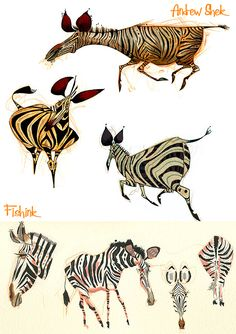 Marvelous Drawing Animals In The Zoo Ideas. Inconceivable Drawing Animals In The Zoo Ideas. Animal Sketches, Animal Drawings, Character Design References, Character Art, Character Illustration, Illustration Art, Animal Illustrations, Illustrations Posters, Doodle Drawing