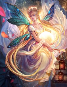 sailor moon, princess serenity by jiuge Sailor Moon S, Princess Serenity, Beautiful Fantasy Art, Beautiful Fairies, Beautiful Images, Fantasy Artwork, Fairy Pictures, Pictures Of Angels, Unicorn Pictures
