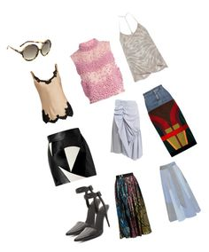 """""""Patch-work Skirts..**"""" by yagna ❤ liked on Polyvore featuring Alexander Wang, N°21, Roksanda, Helmut Lang, Raquel Allegra, FAUSTO PUGLISI, J.W. Anderson, Lisa Marie Fernandez, Tom Ford and Marc Jacobs"""