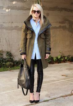Gossip´s Fashion Week: la parka perfecta