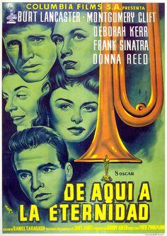 """De aquí a la eternidad"", ""From Here to Eternity"" (1953) Director: Fred Zinnemann."