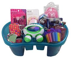 College student easter basket recipe box easter baskets and college trending 1 beauty gift basket for girls or tweens perfect for easter birthday negle Image collections