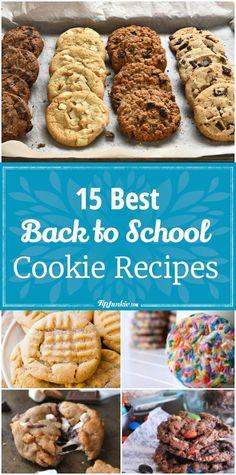 15 Back to School Cookie Recipes via @TipJunkie