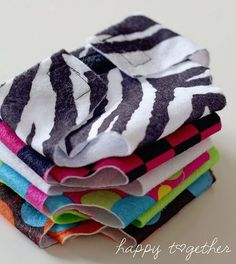 Stack of doll diapers by ohsohappytogether, via Flickr