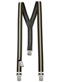 100 kr. (Findes i flere varianter) Xeira Braces / Suspender for Men in Uni Colour and Stripes with 3 Extra Strong Eagle Clips (Standard, Beige / Brown) XEIRA http://www.amazon.co.uk/dp/B01BLJG44E/ref=cm_sw_r_pi_dp_jB14wb0WPPEQ4