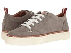 Bally Hernando (Light Grey/Bally Red/Bone) Men's Shoes