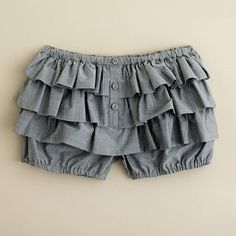 bloomers. a little less ruffles for my style, though