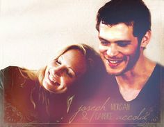 Joseph Morgan & Candice Accola<3