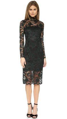 Ganni Flynn Lace Dress | SHOPBOP