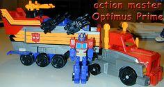 action masters optimus prime truck mode