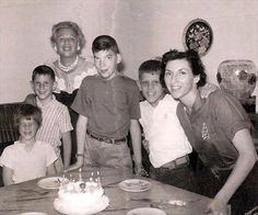 Joey Ramone's birthday party (with his brother, Mickey Leigh)