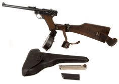 Deactivated 1917 Dated DWM Artillery Luger Weapons Guns, Military Weapons, Luger Pistol, Revolvers, Assault Weapon, Cigars And Whiskey, German Army, Firearms, Hand Guns