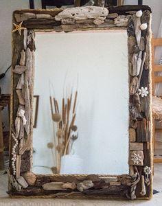 FantaSea - Made by Natassa Klavdianou Driftwood Mirror, Fantasy, Sea, Frame, Home Decor, Beach Wood, Picture Frame, Decoration Home, Room Decor