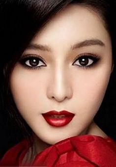 Asian Eye Makeup - Low Onvacations Wallpaper Image