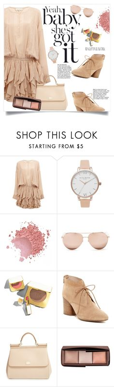 """""""Yeah baby, she's got it"""" by keziatmrskasrf ❤ liked on Polyvore featuring Faith Connexion, Olivia Burton, Linda Farrow, Tom Ford, French Connection, Dolce&Gabbana and Hourglass Cosmetics"""