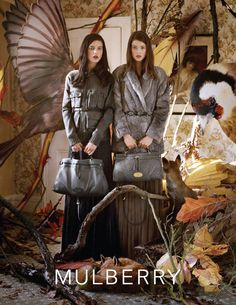 Mulberry Fall 2011 with Julia Saner and Tati Cotliar by Tim Walker