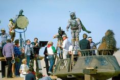 There's always one that's here to screw up the program.: Star Wars, behind the scenes...