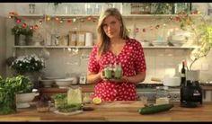 Smoothie concombre-poire-kiwi-kale-eau de coco