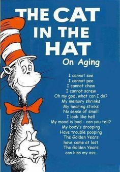 I don't wanna get old haha.