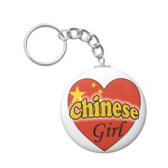 Chinese Girl Sleutelhangers Personalized Items