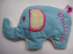 kissen elefant mit namen bestickt inlett kissen. Black Bedroom Furniture Sets. Home Design Ideas