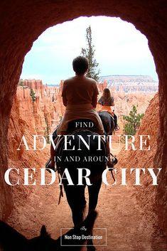 Find adventure in and around Cedar City - US - Non Stop Destination