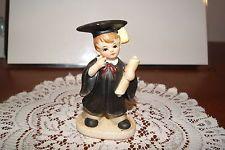 VINTAGE.....CERAMIC.....1973....GRADUATION KID......FIGURINE Vintage Ceramic, Graduation, Porcelain, Kid, Ceramics, My Favorite Things, Birthday, Etsy, Child